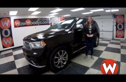 2017 Dodge Durango Citadel Anodized Platinum review | Video Walkaround | Used Vehicles at WowWoodys Anaheim California 2018
