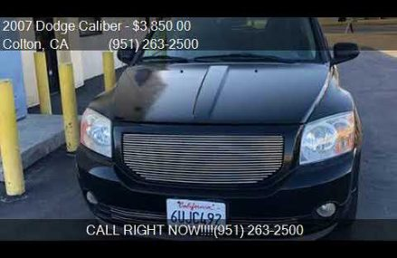 2007 Dodge Caliber Sxt From Leesburg 75451 TX USA