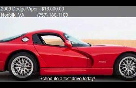 Dodge Viper Autotrader  Baer Field Speedway, Fort Wayne, Indiana 2018