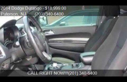 2014 Dodge Durango SXT AWD 4dr SUV for sale in Paterson, NJ Memphis Tennessee 2018