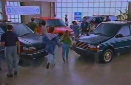 1993 Chrysler Minivan Commercial Near Magazine 72943 AR
