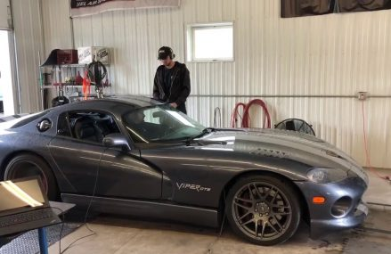 Dodge Viper Dyno Near Angola Motor Speedway, Angola, Indiana 2018