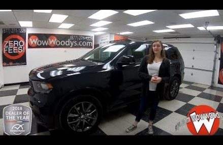 2018 Dodge Durango GT Review | Video Walkaround | Used Cars and Trucks for sale at WowWoodys Sacramento California 2018