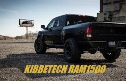 KibbeTech Ram1500 Truck Prerunner with BlackWidow Exhaust Race Venom Found at 56181 Welcome MN