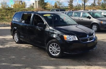 2015 Dodge Grand Caravan SXT | Smooth & Fun To Drive | Edmonton | AE11564A | Crosstown Chrysler For Monticello 52310 IA