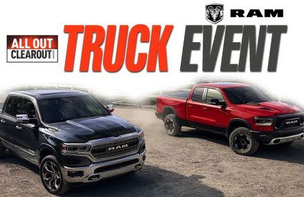 Crosstown Chrysler Dodge Jeep RAM All Out Clearout Truck Event: Get up to $18,802 in savings! Local Area 77905 Victoria TX