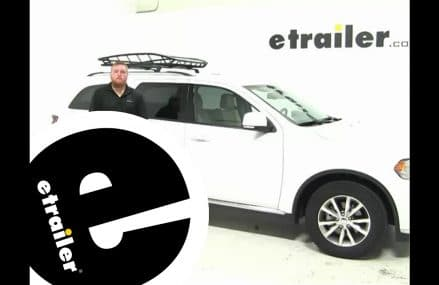 Thule  Roof Cargo Carrier Review – 2015 Dodge Durango – etrailer.com Sterling Heights Michigan 2018