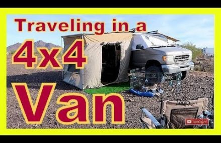 Couple Traveling in a 4×4 Van Local Magnolia 19962 DE