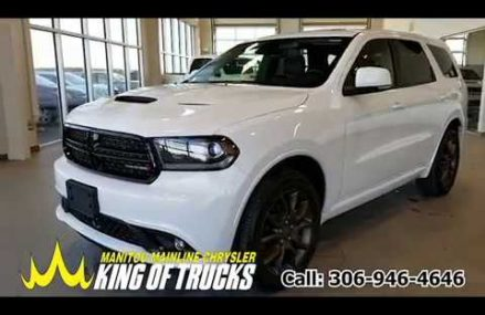 New 2018 Dodge Durango GT AWD Glendale California 2018