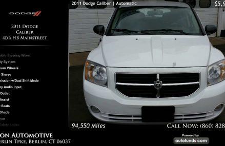 Dodge Caliber Used Near Huntington 75949 TX USA