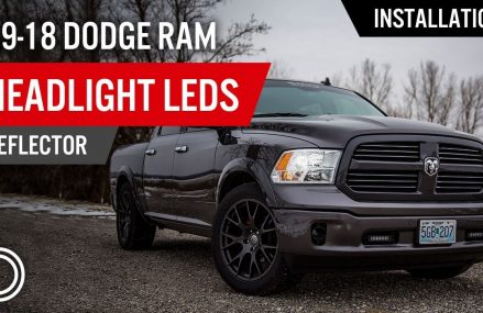 How to Install 2009-2018 Dodge Ram Headlight LEDs (Reflector) | Diode Dynamics Near 20559 Washington DC
