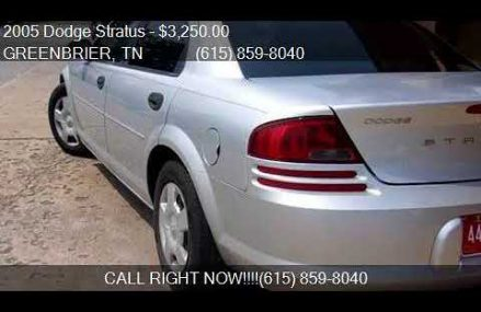 Dodge Stratus For Sale at Norwich 67118 KS