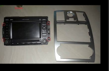 Android 7.1 car dvd player for Chrysler For Milltown 47145 IN