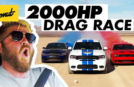 2000 Horsepower Drag Race in the Desert | Donut Media Austin Texas 2018