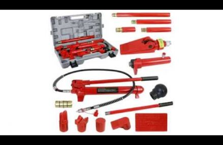 F2C 10 Ton Capacity Porta Hydraulic Bottle Jack ram Pump Auto Body Frame Repair Tool Kit Review From 12884 Victory Mills NY