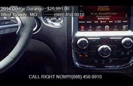 2014 Dodge Durango R/T AWD 4dr SUV for sale in West County, Winston-Salem North Carolina 2018