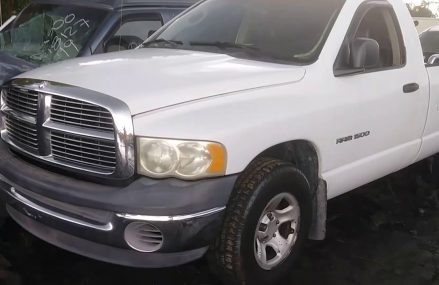 2002 Dodge Ram 1500 5.9L = Junkyard New Arrival Around Streets in 20535 Washington DC