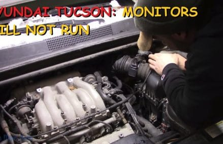 Hyundai Tucson: Will Not Run A Drive Cycle Near Minot 58703 ND