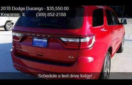2018 Dodge Durango GT AWD 4dr SUV for sale in Kewanee, IL 61 Fresno California 2018