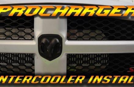 Supercharged RAM 1500 – Intercooler Install – HellRAM EP2 Local 26187 Williamstown WV