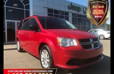 2013| Dodge| Grand Caravan| SXT| |Remote Start| Cloth| Rear DVD| Grove Dodge For Mountain View 94042 CA