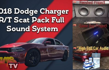 2018 Dodge Charger R/T Scat Pack Full Sound System Project 412 Now at 39320 Bailey MS