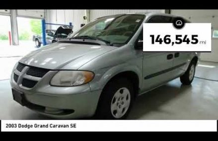 2003 Dodge Grand Caravan Cedar Falls IA TT27948B in Madawaska 4756 ME