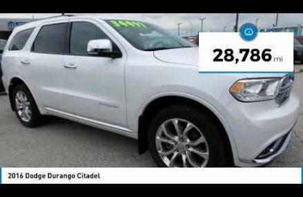 2016 Dodge Durango Hanover PA HJ2390A Oceanside California 2018