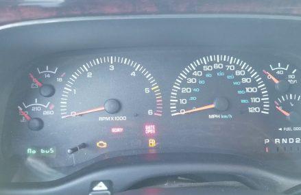 Dodge Stratus No Bus Message at Saint Marys 26170 WV