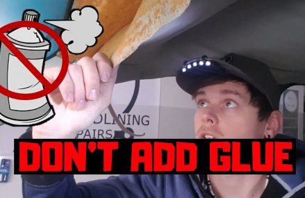 BEST Temporary FIX for SAGGING HEADLINER!….DON'T ADD GLUE!!….(QUICK & EASY) From Los Angeles 90004 CA