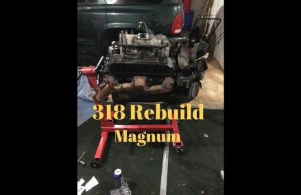 Engine Tear Down PT.1 (5.2 Magnum) Portland Oregon 2018