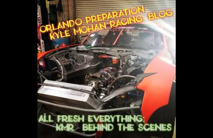 New engine, parts, preparation – shop life before Orlando FD/ Kyle Mohan Racing Garden Grove California 2018
