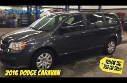 2016 Dodge Caravan at Seaway GM Cornwall #S2191 in Lower Lake 95457 CA