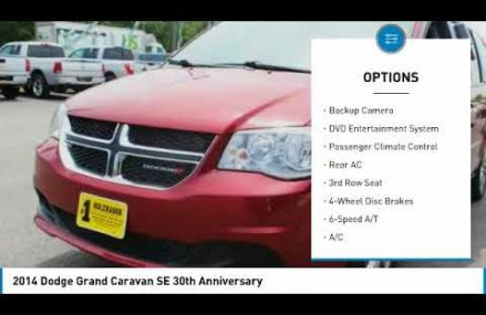 2014 Dodge Grand Caravan Holzhauer Auto and Motorsports Group 419491 For Manassas 20108 VA