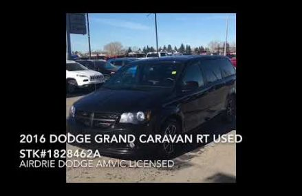 Used 2016 Dodge Grand Caravan RT Stock #1828462A at Marilla 14102 NY