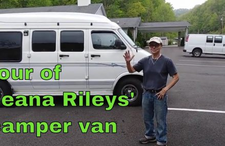 Tour of Jeana Rileys' Camper Van with Thermostat Starter System at Milnesville 18239 PA