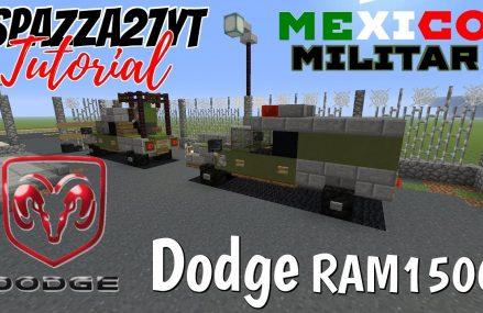 Minecraft Dodge RAM1500 Mexico Militar Tutorial Area Code 43162 West Jefferson OH