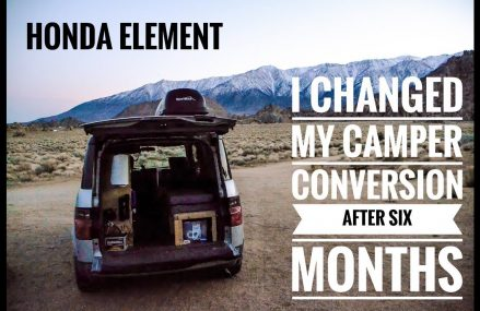 Honda Element: I Changed My Camper Conversion After Six Months Near Minneapolis 55486 MN