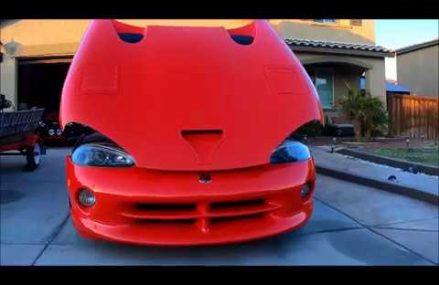 Dodge Viper Turbo Kit  Altamont Motorsports Park, Tracy, California 2018