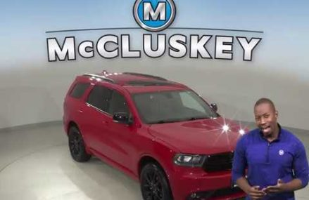 A11820WT Used 2017 Dodge Durango GT AWD Red SUV Test Drive, Review, For Sale – San Antonio Texas 2018