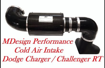 MDesign Performance Cold Air Intake Dodge Charger RT  / Challenger RT For 78734 Austin TX