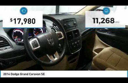 2014 Dodge Grand Caravan 18HV65A in Monroe 28111 NC