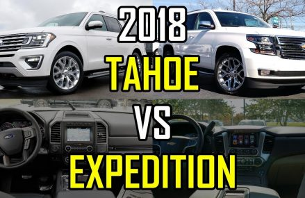 $80K SUV FACEOFF — 2018 Ford Expedition vs. 2018 Chevy Tahoe: Comparison Lincoln Nebraska 2018