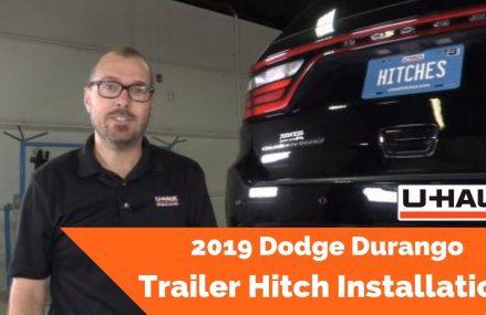 2019 Dodge Durango Trailer Hitch Installation Cedar Rapids Iowa 2018