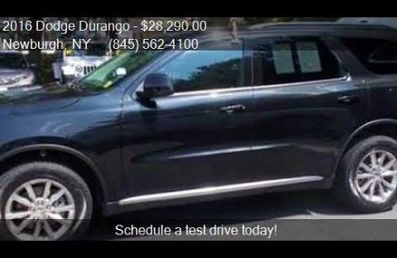 2016 Dodge Durango SXT AWD 4dr SUV for sale in Newburgh, NY San Francisco California 2018