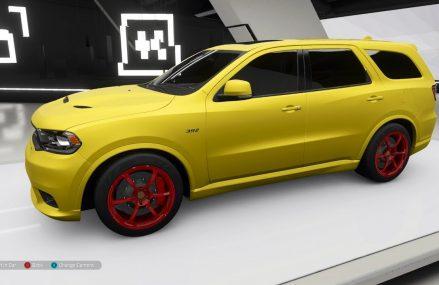 Forza Horizon 4 – 2018 Dodge Durango SRT – Customize and Drive Ontario California 2018