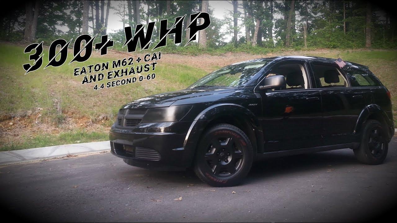 Supercharged Dodge Journey Srt Custom Exhaust Driving Clip Pulls Omaha Nebraska 2018 Bluedodge Com