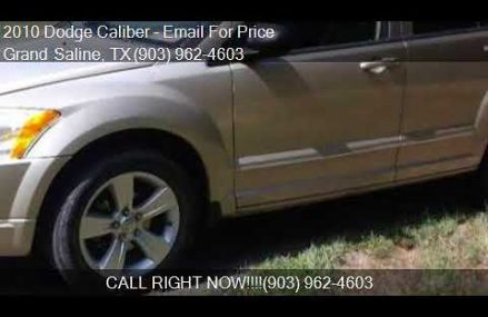 Dodge Caliber Wagon From Caddo Mills 75135 TX USA