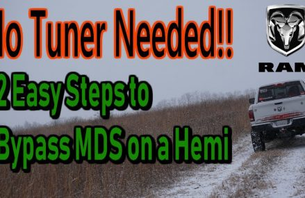 HOW TO: Turn Off MDS On Hemi Ram Trucks Jackson Mississippi 2018