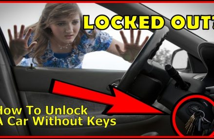How to unlock a car door without keys, the easy way. Ontario California 2018